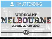 I'm Attending WordCamp Melbourne 2013